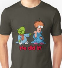 Muppet Babies - Bunsen & Beeker - He Did It! Unisex T-Shirt