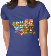 Muppet Babies - Group Women's Fitted T-Shirt