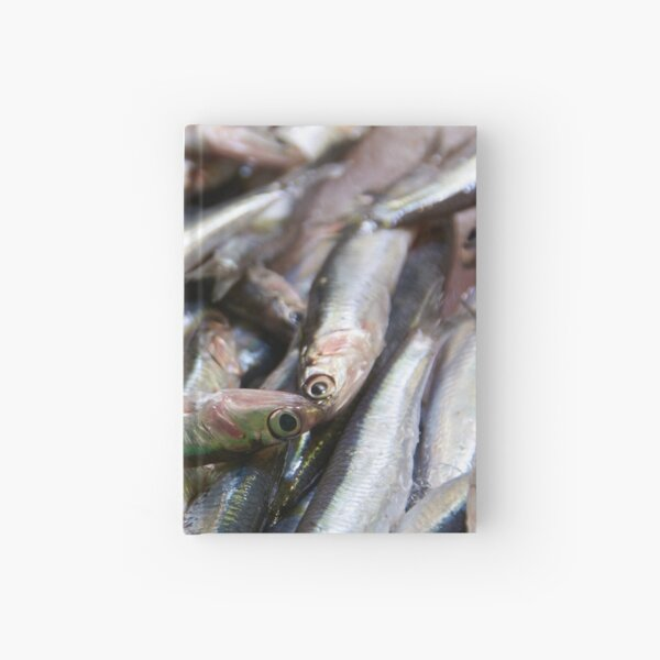 Sea-fresh Spanish sardines Hardcover Journal