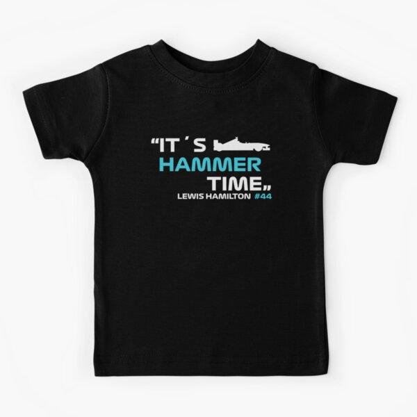 It´s Hammer Time # 44 Lewis Hamilton Formule 1 T-shirt enfant