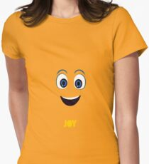 Inside Out Of Joy Women's Fitted T-Shirt