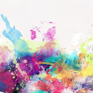 Watercolor Splatter 02 by infinitetowns