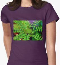 Maidenhair Fern Womens Fitted T-Shirt