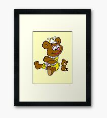 Muppet Babies - Fozzie Bear & Teddy - Arms Crossed Framed Print