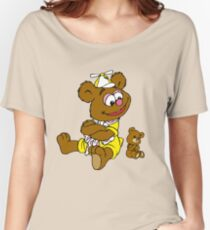 Muppet Babies - Fozzie Bear & Teddy - Arms Crossed Women's Relaxed Fit T-Shirt