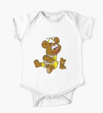 Muppet Babies - Fozzie Bear & Teddy - Arms Crossed One Piece - Short Sleeve