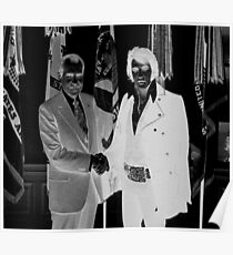Richard Nixon & Elvis Presley Poster
