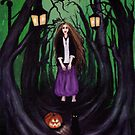 LOST IN A HAUNTED FOREST by ROUBLE RUST