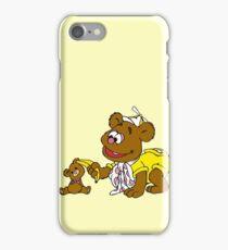 Muppet Babies - Fozzie Bear & Teddy - Banana Telephone iPhone Case/Skin
