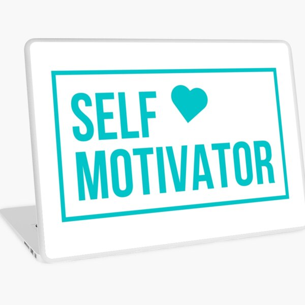 Self Motivator Laptop Skin