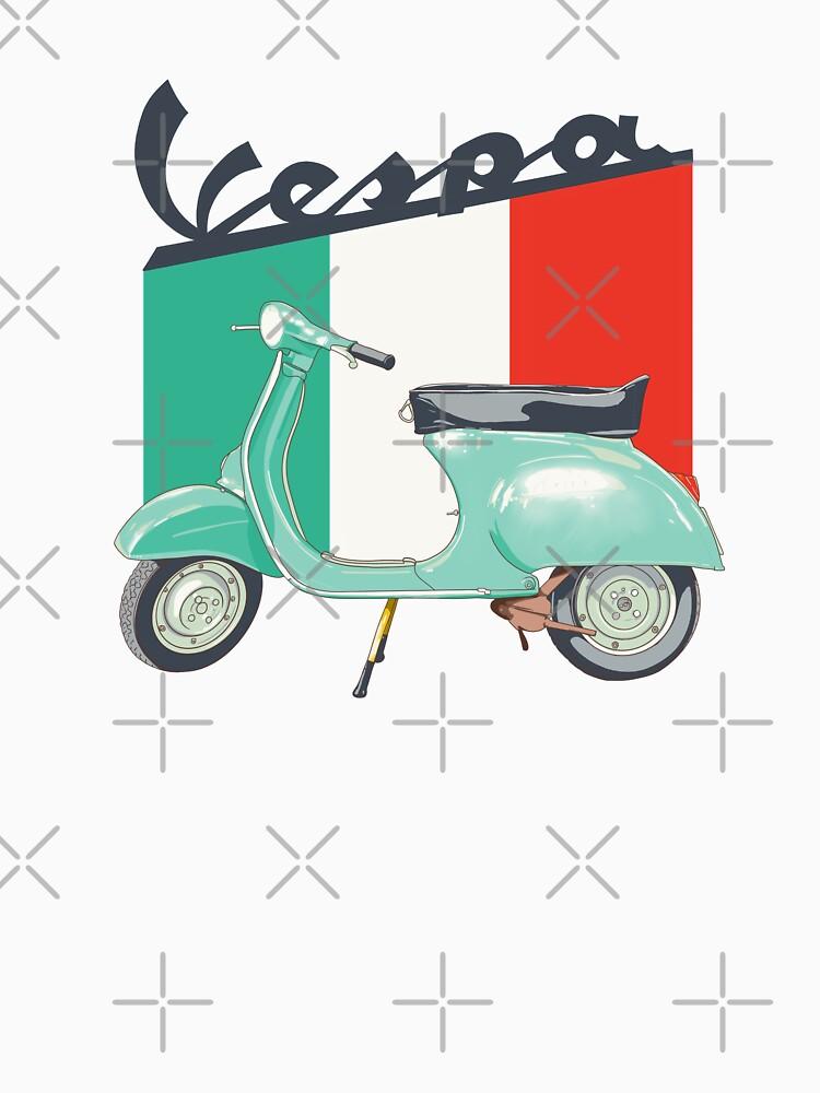 Vespa logo by MimieTrouvetou