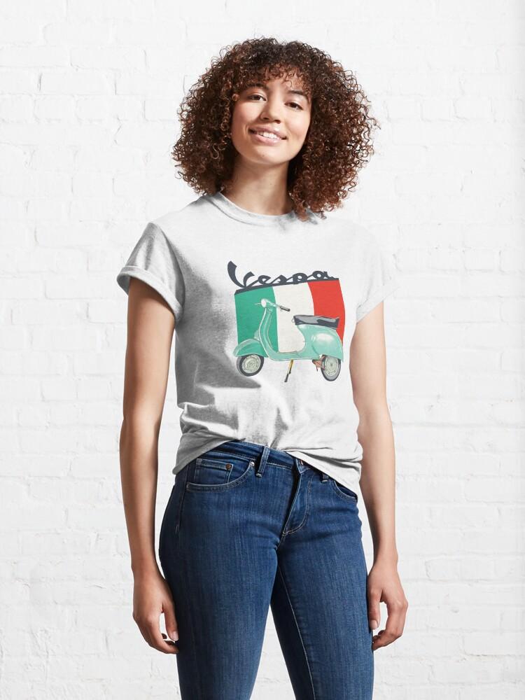 Alternate view of Vespa logo Classic T-Shirt