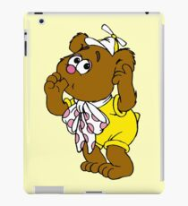 Muppet Babies - Fozzie Bear - Sucking Thumb iPad Case/Skin