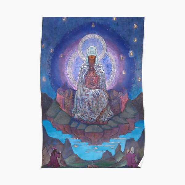 Nicholas Roerich -  Mother of the World (1924) Poster