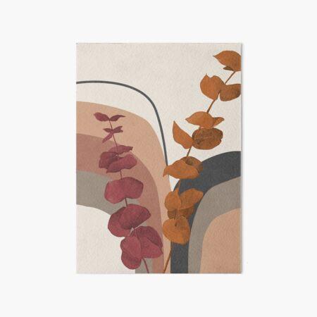 Boho Eukalyptus Galeriedruck