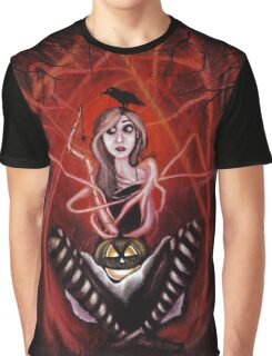 All I want is Halloween Graphic T-Shirt