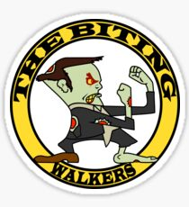 The Fighting Walkers with Logo Sticker