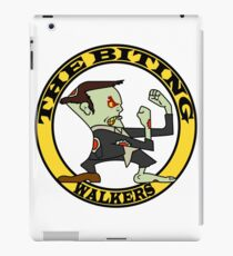 The Fighting Walkers with Logo iPad Case/Skin