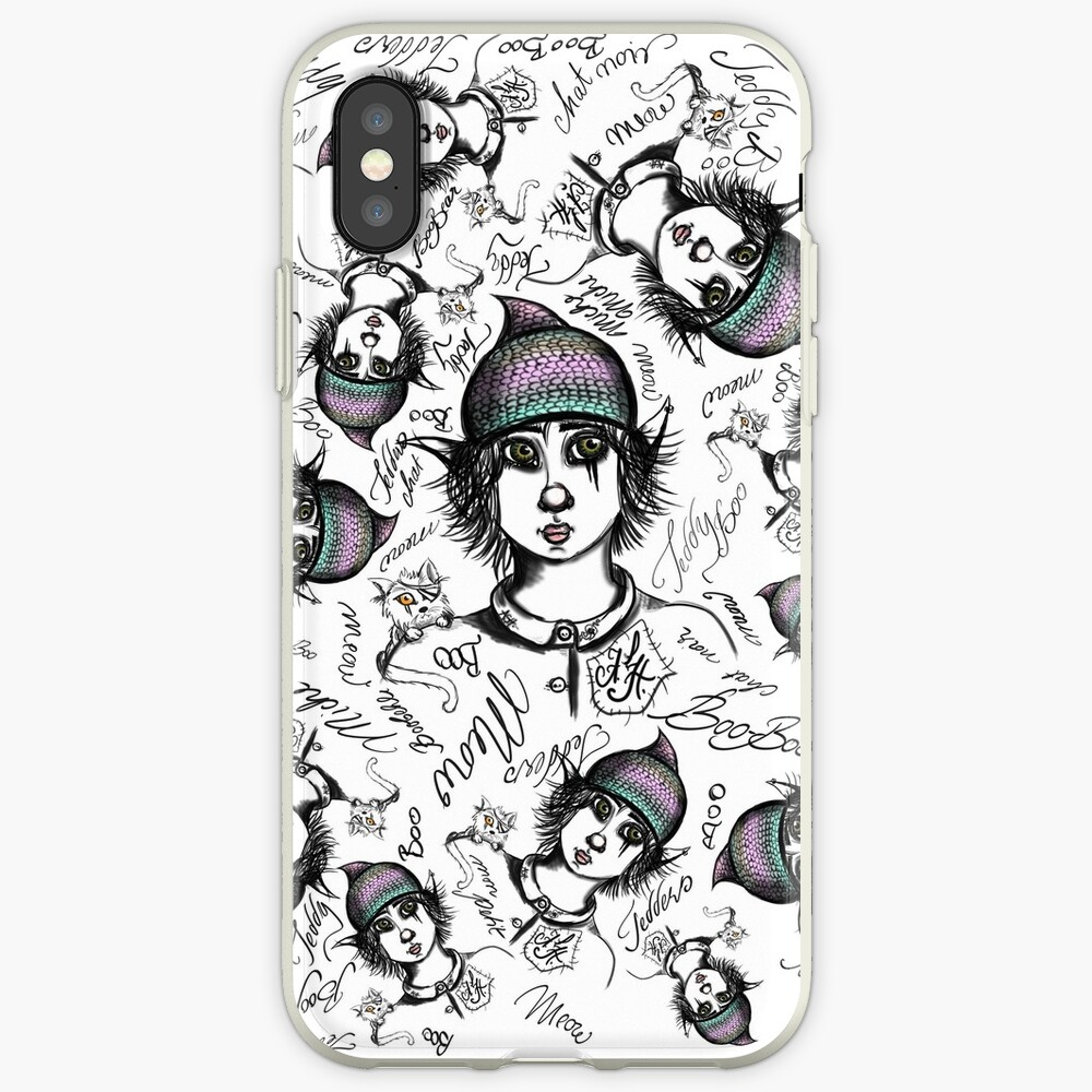 Teddy Boo und ASH iPhone-Hülle & Cover