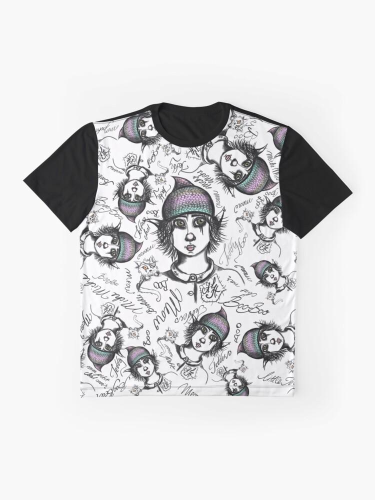 Alternative Ansicht von Teddy Boo und ASH Grafik T-Shirt