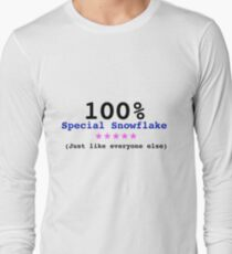 The Most Special Snowflake Long Sleeve T-Shirt