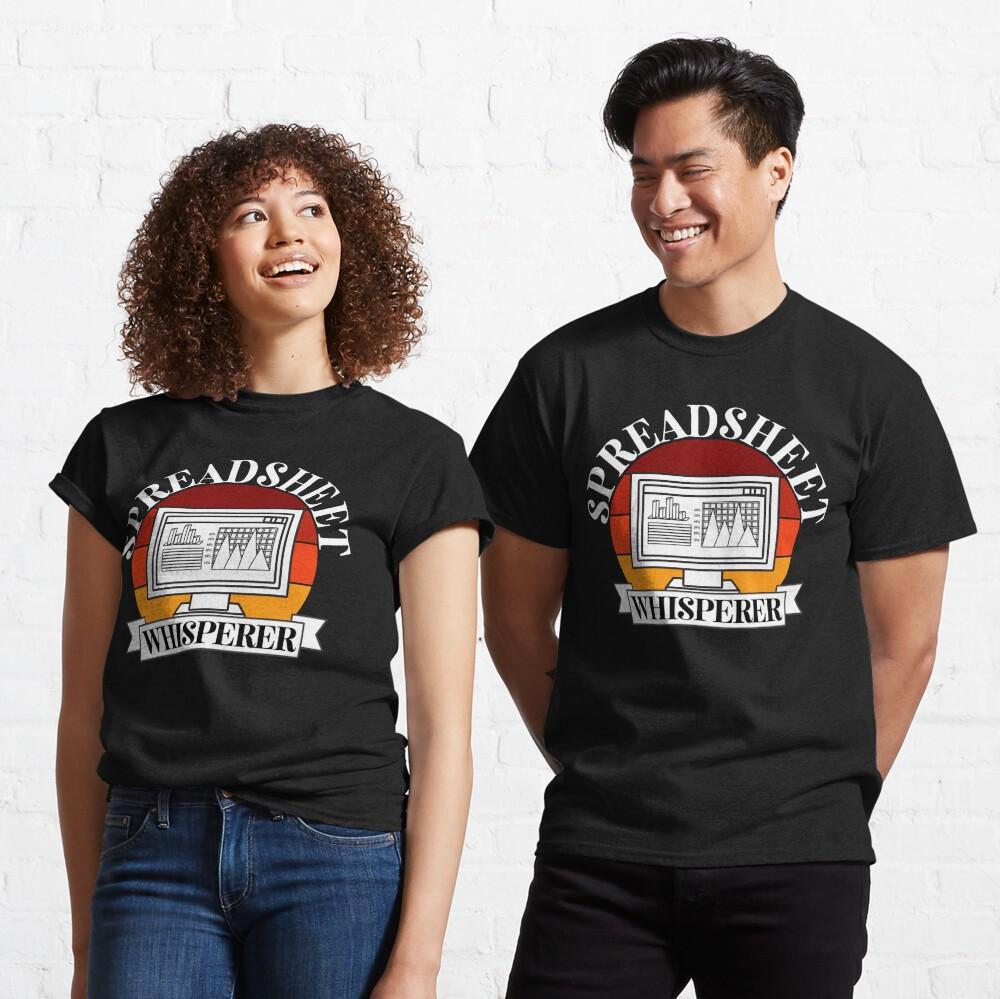 Spreadsheet whisperer Classic T-Shirt