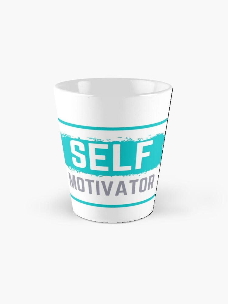Alternate view of Self Motivator Mug