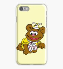 Muppet Babies - Fozzie Bear - Crawling iPhone Case/Skin