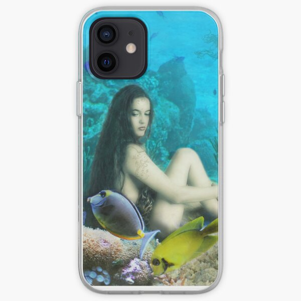 A Nymph in an Underwater World  iPhone Soft Case
