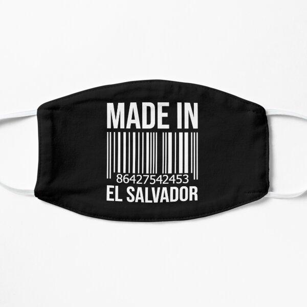 Hecho en El Salvador Mascarilla plana