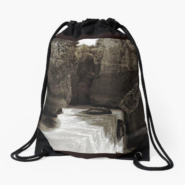 Ancient Spirit of Tulum #2 Drawstring Bag