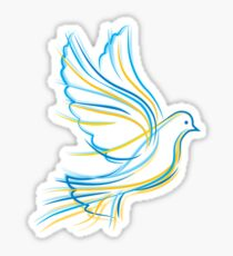 Ukrainian Dove Sticker