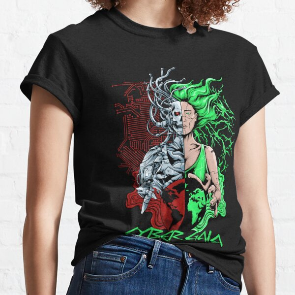 Cyber Gaia Classic T-Shirt