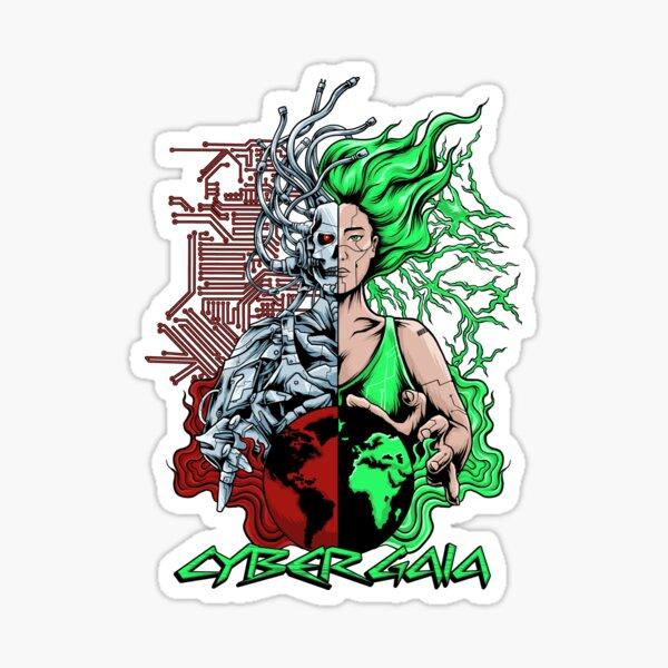 Cyber Gaia Sticker