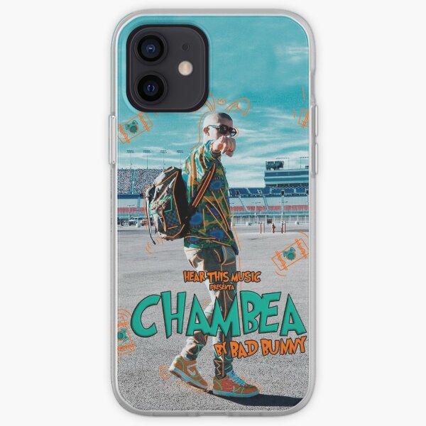 Bad Bunny - Chambea Funda blanda para iPhone