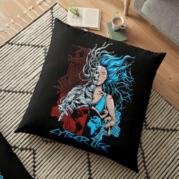 Cyber Life Floor Pillow