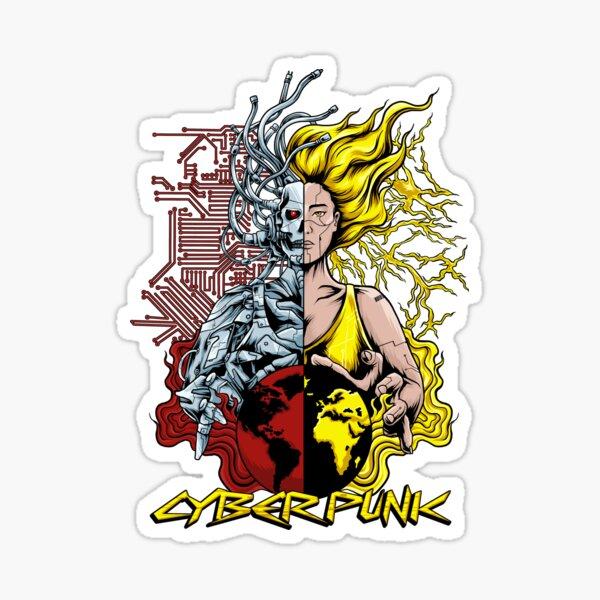 Cyber Punk Sticker
