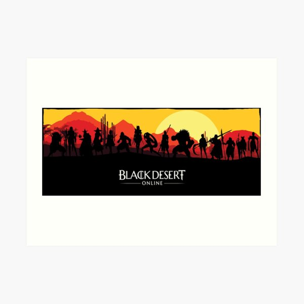 Black Desert en ligne Impression artistique