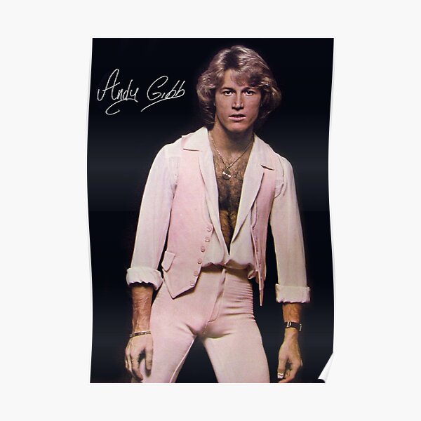 Andy Gibb poster Poster