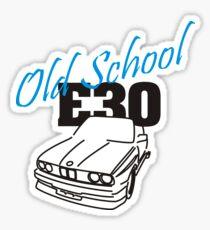 E30 Old School Sticker
