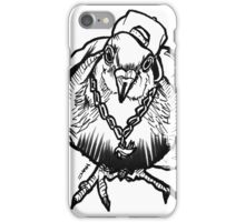 Homie Pigeon (Black & White) RedBubbleArtParty iPhone Case/Skin