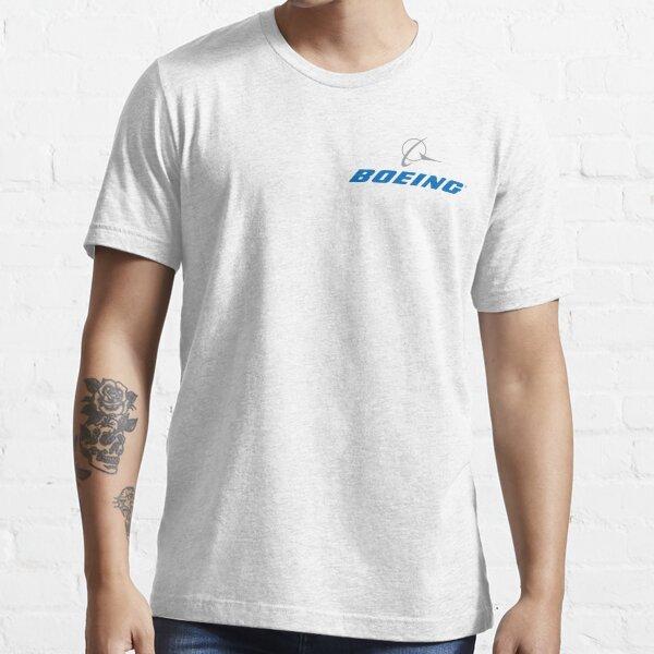 Avion de logo autocollant Boeing T-shirt essentiel