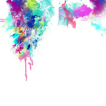 Watercolor Splatter by infinitetowns