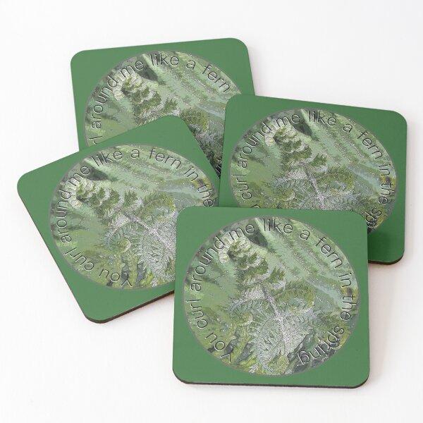 John Martyn, Solid Air, Go Down Easy. Coasters (Set of 4)