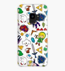 Cute Legend of Zelda pattern!!! Case/Skin for Samsung Galaxy