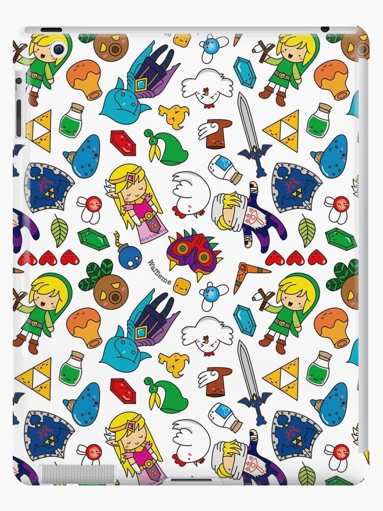 Cute Legend of Zelda pattern!!! by waffleme
