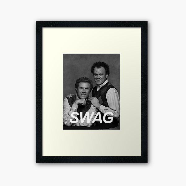 Step Brothers Swag Framed Art Print