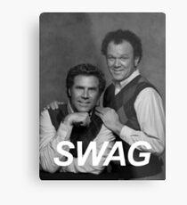 Step Brothers Swag Metal Print