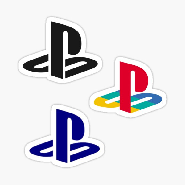 Pack de logos Playstation Sticker