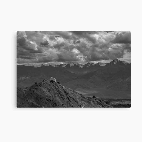 Tibetan Temple Canvas Print